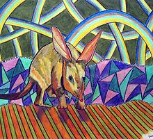 307 - BILBY - DAVE EDWARDS - COLOURED PENCILS - 2010 by BLYTHART