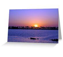 Fred Howard Beach-Tarpon Springs Florida Greeting Card