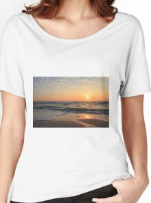 Sunset at the Beach Women's Relaxed Fit T-Shirt