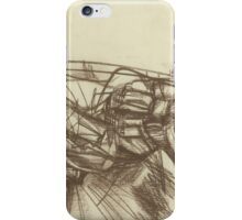 abstract empty landscape iPhone Case/Skin