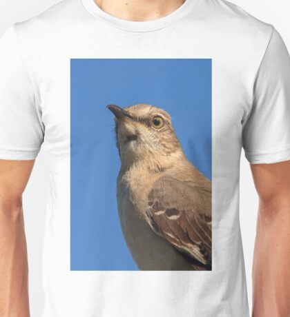 Mockingbird Portrait Unisex T-Shirt