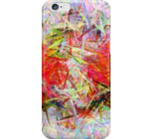 Abstract Colour Chaos iPhone Case/Skin