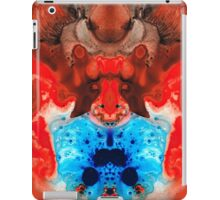 Beauty And The Beast - Abstract Art By Sharon Cummings iPad Case/Skin
