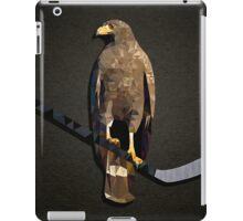 Polyhawk on Black iPad Case/Skin