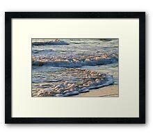 Surf at Sunrise Framed Print