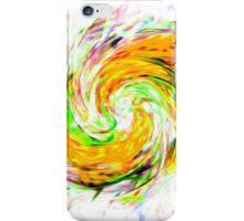 The Furious Swirling Yellows iPhone Case/Skin