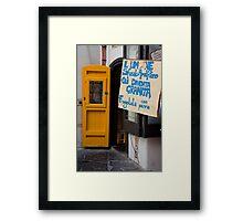 Sfutato Amalfitano Framed Print