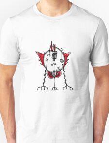 Alien Robot Hand Draw Illustration T-Shirt