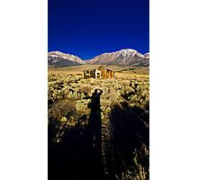 Early Morning Ghost Town, CA Photographic Print