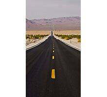 Straight and Narrow, Death Valley Photographic Print