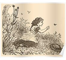 Five Mice in a Mouse Trap Laura Elisabeth Howe Richards and Kate Greenaway 1881 0028 Brighteyes Poster