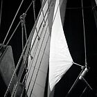 Schooner Sails by Barbara Simmons