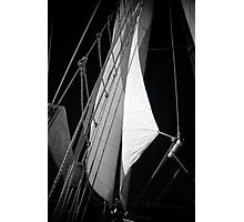 Schooner Sails Photographic Print