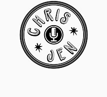 Chris and Jen Circle Stamp (Black) Unisex T-Shirt