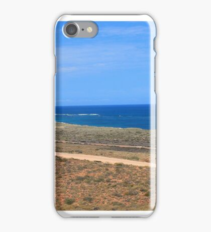 Ningaloo Reef Coastline iPhone Case/Skin