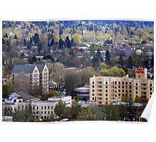 A piece of Eugene, Oregon Poster