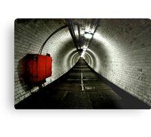 Greenwich Tunnel Metal Print