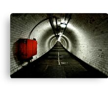 Greenwich Tunnel Canvas Print
