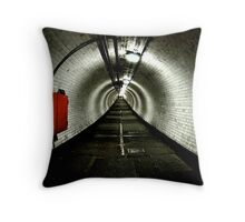 Greenwich Tunnel Throw Pillow