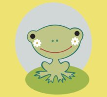 Little smiling frog Kids Tee