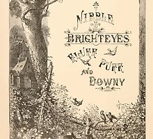 Five Mice in a Mouse Trap Laura Elisabeth Howe Richards and Kate Greenaway 1881 0022 Nibble Brighteyes Fluff Puff Downy by wetdryvac