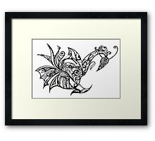 My Mind's Creature Framed Print
