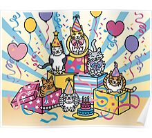 Party Cats Poster