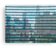 Reflection In United Nations Canvas Print