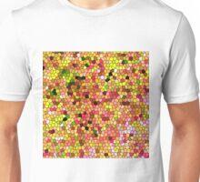 303. Summer Flowers (Glass) Unisex T-Shirt