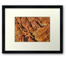 Grand Canyon - A look into the Abyss Framed Print