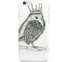 Crowned Bird iPhone Case/Skin