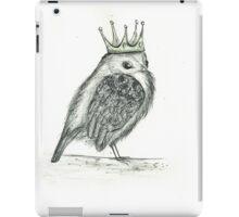 Crowned Bird iPad Case/Skin
