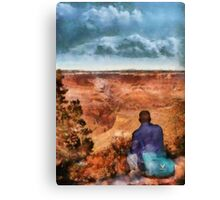 Grand Canyon - The Vista Canvas Print