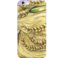 Girl with Braids iPhone Case/Skin