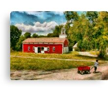 Fireman - I want to be a firefighter Canvas Print