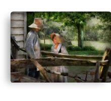 Lover - The Courtship Canvas Print