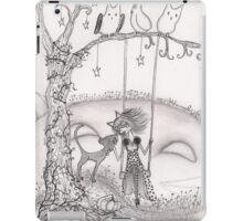 Beware of Feline Hill iPad Case/Skin