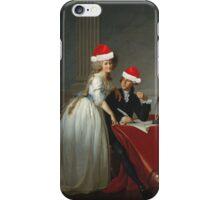 Antoine-Laurent Lavoisier (1743–1794) and His Wife (Marie-Anne-Pierrette Paulze, 1758–1836) Jacques Louis David  iPhone Case/Skin