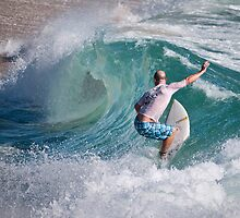 Surfing Sebastian Inlet in Florida, USA by Court Roberts