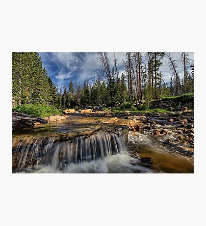 The Provo River on the Mirror Lake Highway Photographic Print
