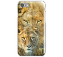 Lion And Lioness - African Royalty iPhone Case/Skin