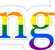 Single - LGBT Sticker