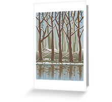 Four Seasons Forest_Winter Greeting Card
