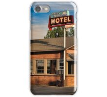 Swiss Mountain Motel iPhone Case/Skin