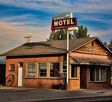 Swiss Mountain Motel by Hugh Smith