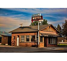 Swiss Mountain Motel Photographic Print