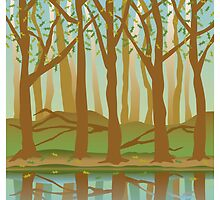 Four Seasons Forest in the Spring by Lisann