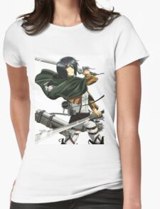 Mikasa Ackerman Womens Fitted T-Shirt