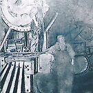 1917 To Honor the first Woman Steam Locomotive Crew by David M Scott