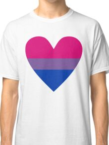 Bisexual heart Classic T-Shirt